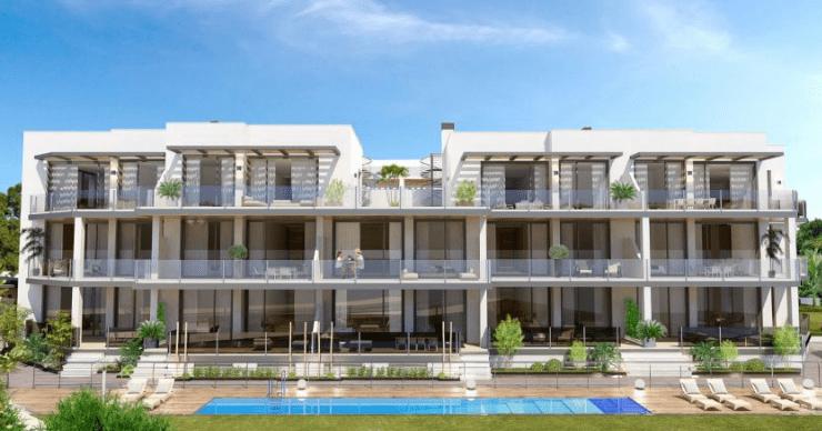 Residencial Costa Marinsa – modern Marbella boutique apartments near the beach