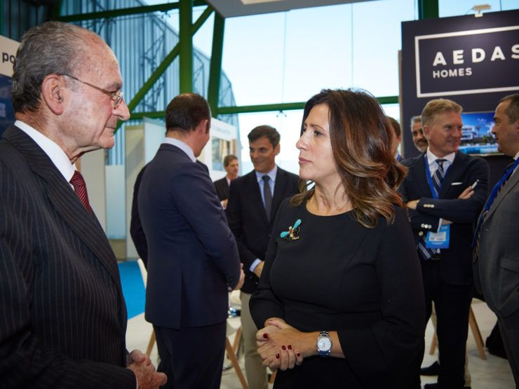 Nvoga & Aedas Homes at SIMED property exhibition in Málaga