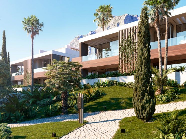 Le Blanc, a superlative property development in Marbella