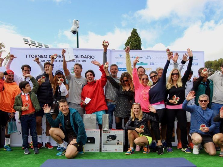 First Solidarity Padel Tournament for Real Estate Sector hailed a success!