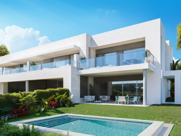 Treetops · modern homes for sale next to Guadalmina Golf
